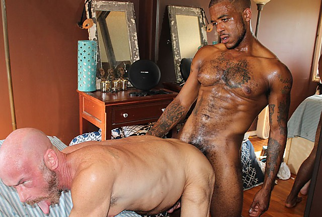 Daddy Nick Wood Flips for Micah's Dark Meat